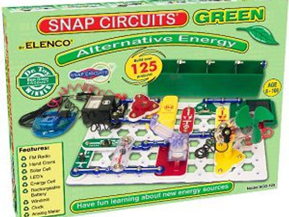 Snap Circuits Green Alternative Energy (SCG-125)