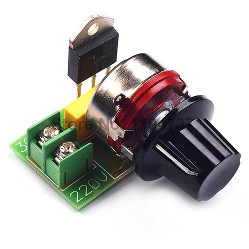 3000W Thyristor power electronic voltage regulator
