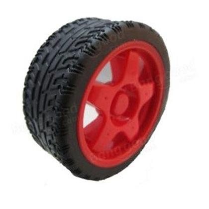 גלגל אדום עבור מכונית חכמה