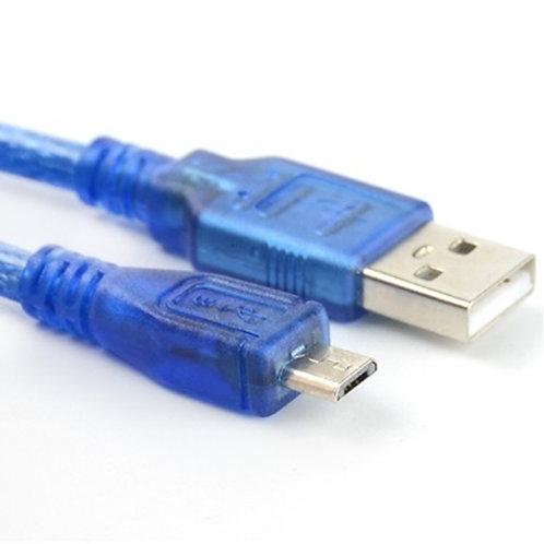 כבל USB - מחבר מיקרו