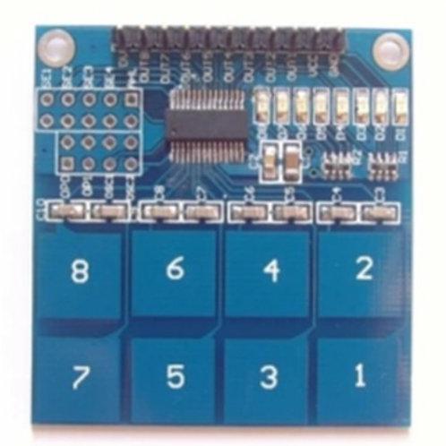 מעגל משולב 8 כפתורי מגע TTP226