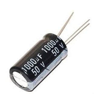קבל אלקטרוליטיק 50 וולט 1000uF