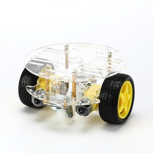מכונית חכמה עגולה 2 גלגלים