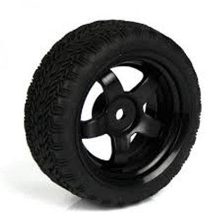 גלגל שחור עבור מכונית חכמה