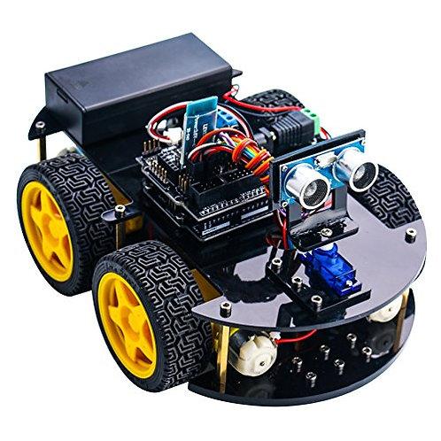 ערכת להרכבה: רכב חכם 4 גלגלים דגם אלגו