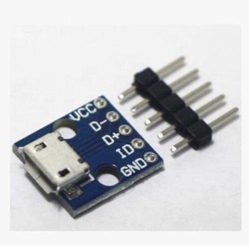 ספק כוח למטריצה 5 וולט - מיקרו USB
