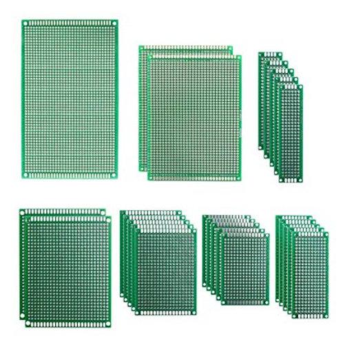 לוח הלחמה אב-טיפוס דו-צדדי בגדלים שונים