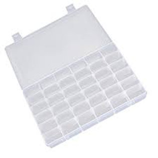 קופסת אחסון 36 תאים