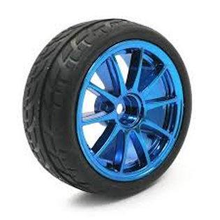 גלגל כחול עבור מכונית חכמה