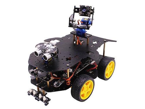 פלטפורמה רובוטית עבור ראספברי פי