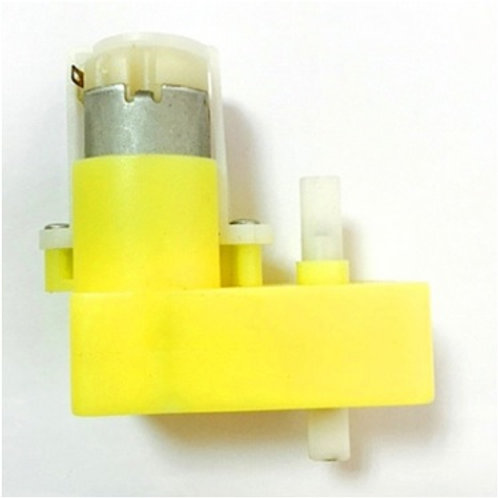מנוע מתח ישר 3-6 וולט בצורת L עבור מכונית חכמה