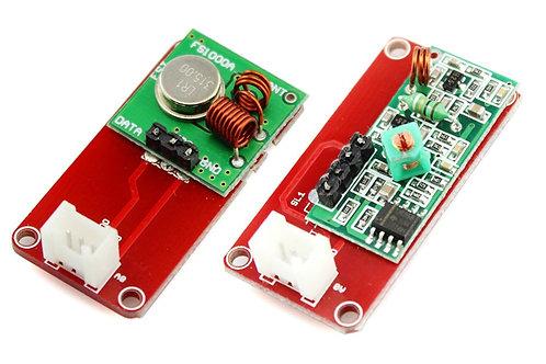 Crowtail - 315Mhz RF שדר ומקלט