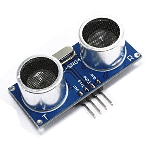HC-SR04 - חיישן מרחק על-קולי