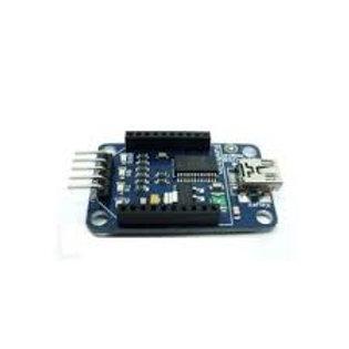 לוח הרחבה לחיישן HC-06 Xbee - מחבר מיני USB