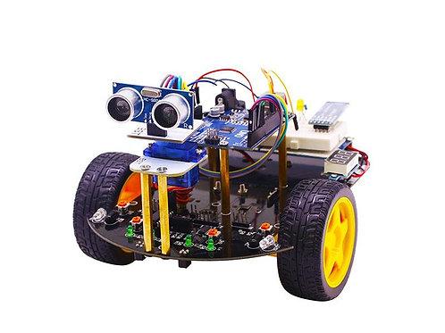 ערכת מתחילים רובוט רכב-חכם מבוסס ארדווינו