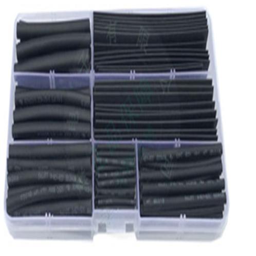 ערכת בידוד מתכווץ 140 חתיכות בצבע שחור