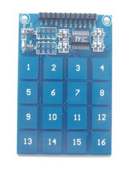 מעגל משולב 16 כפתורי מגע TTP229