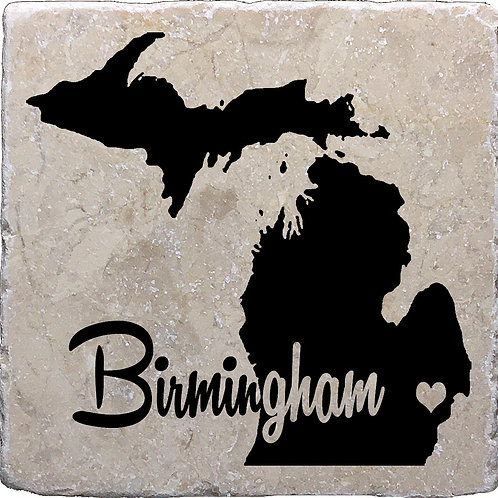 Birmingham Michigan Coaster
