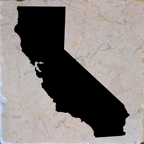 California Silhouette Coaster