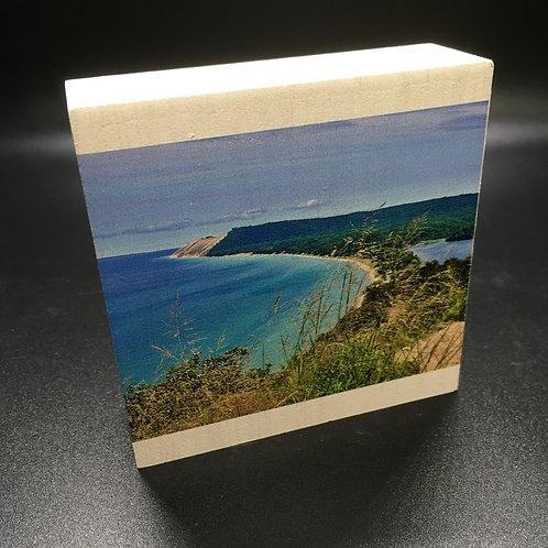 Michigan Sleeping Bear Dunes Art Block
