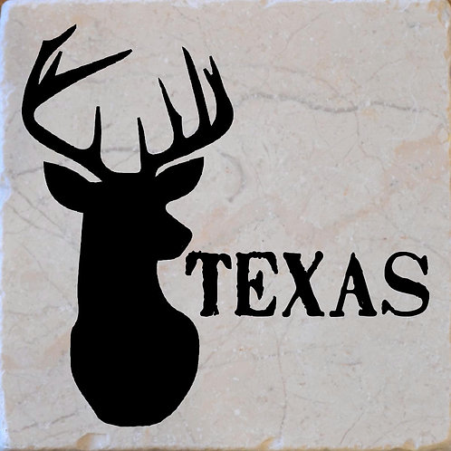 Texas Buck Coaster