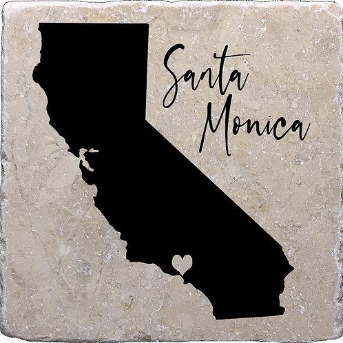 Santa Monica California Coaster