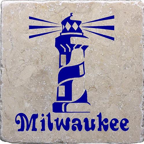 Milwaukee Lighthouse Coaster
