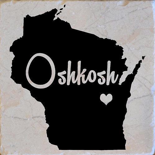 Oshkosh Wisconsin Coaster