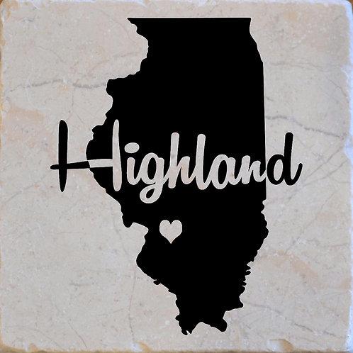 Highland Illinois Coaster