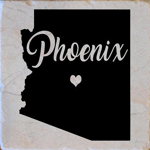 Phoenix Arizona Word Coaster