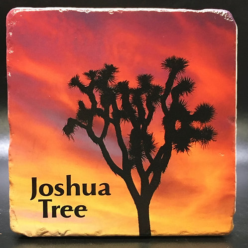 Joshua Tree Sunset Coaster