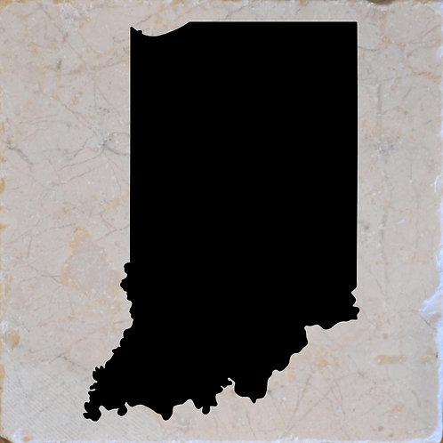 Indiana Silhouette Coasters