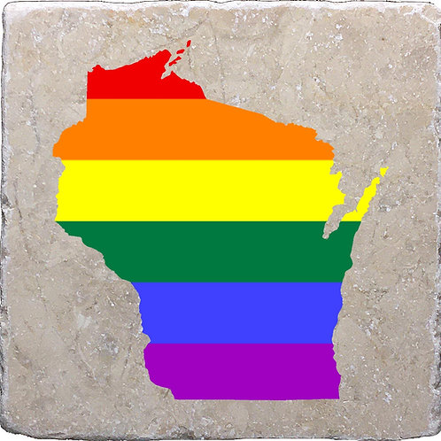 Wisconsin LGBTQ+ Pride Coaster