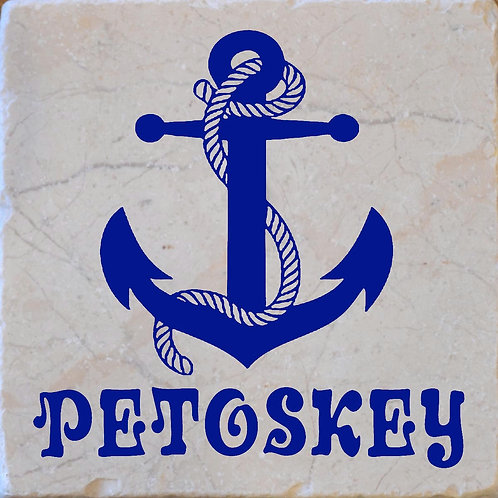 Petoskey Anchor Coaster