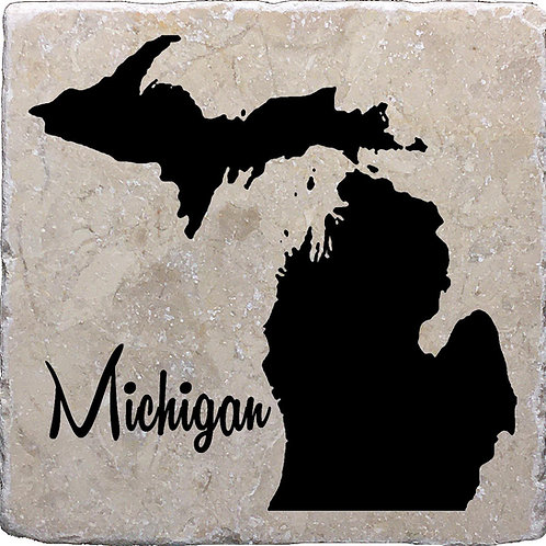 Michigan Coaster (with Michigan word)