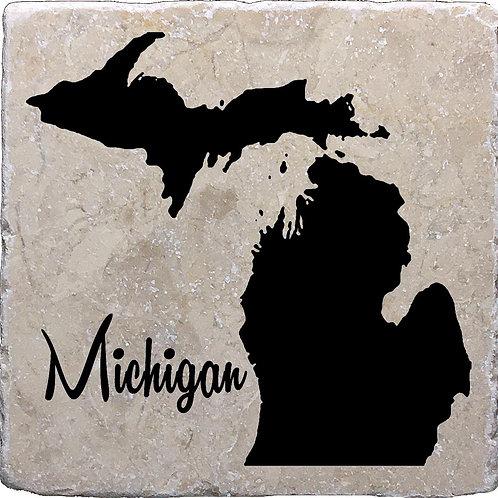 Michigan Coaster (with Michigan word)