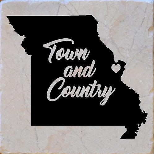 Town & Country Missouri Coaster