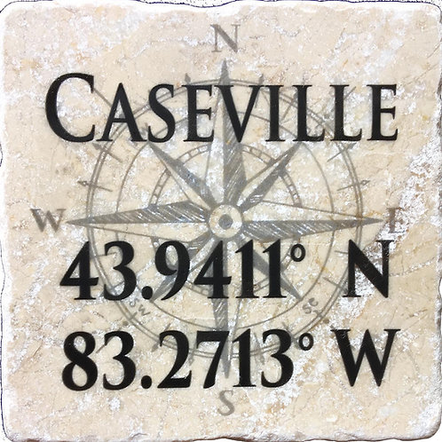 Coordinates Custom Coaster Set of 4