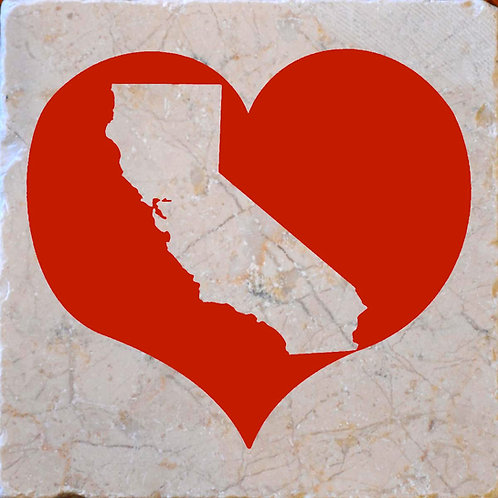 Red Heart California Silhouette Coasters
