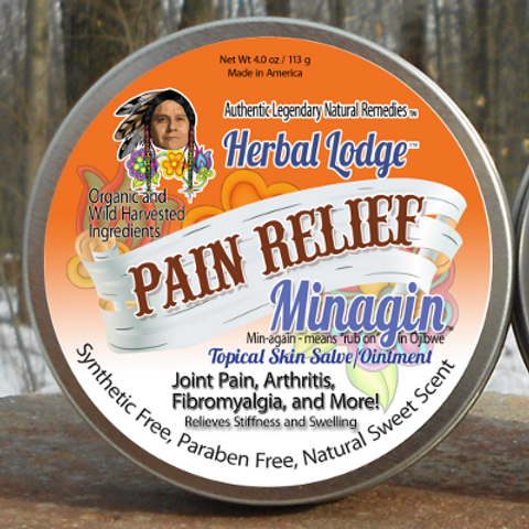Minagin Pain Relief Skin Salve