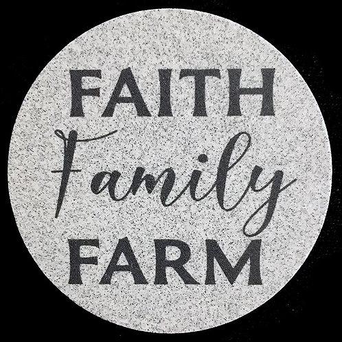 Car Coaster 2-Pack - Faith Family Farm