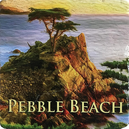 Pebble Beach Coaster in Color