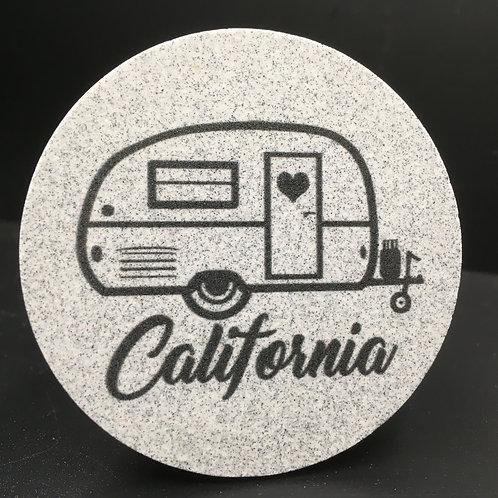 Car Coaster 2-Pack - California Camper