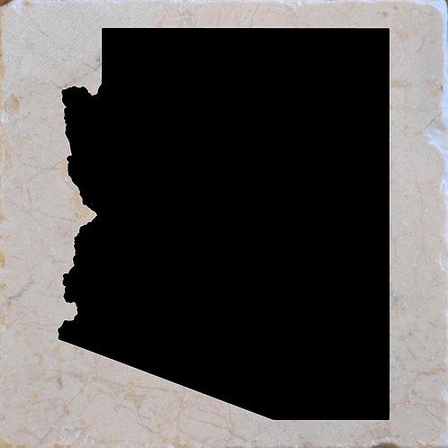 Arizona Silhouette Coaster