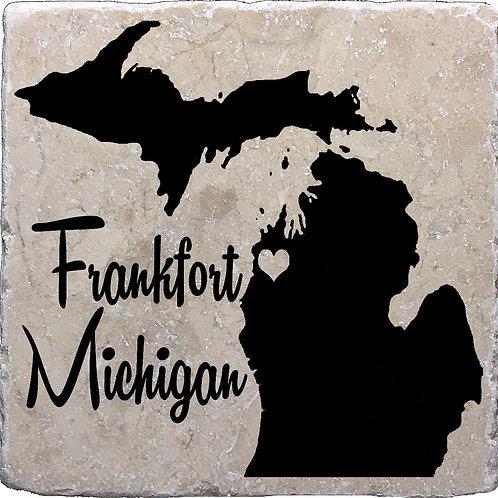 Frankfort Michigan Coaster