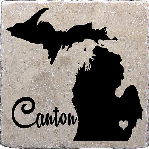 Canton Michigan Coaster