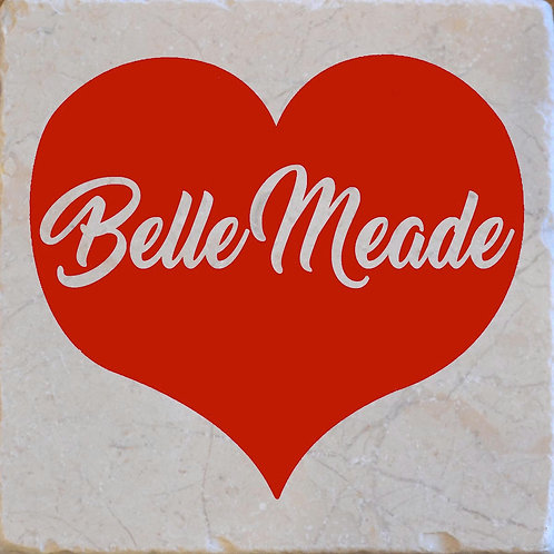 Red Heart Belle Meade Tennessee Coaster
