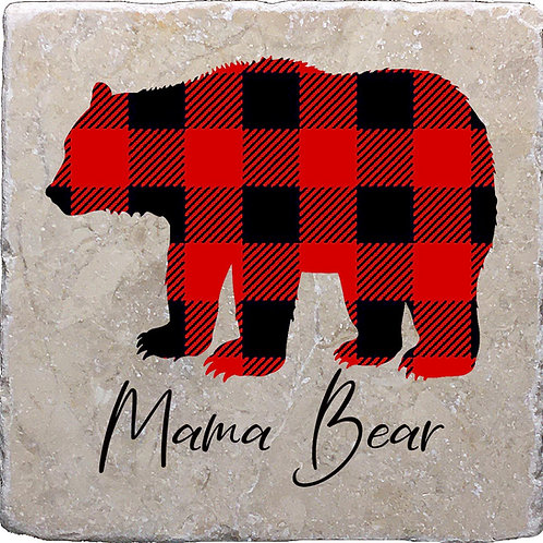 Mama Bear Coaster