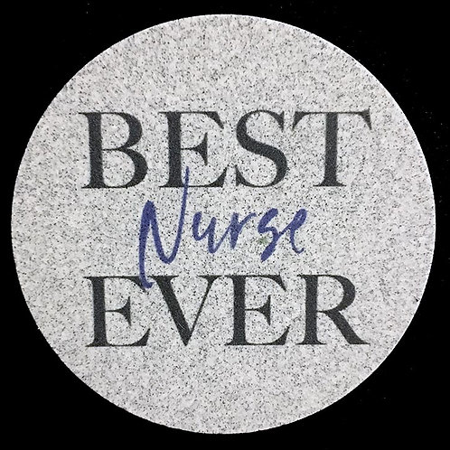 Car Coaster 2-Pack - Best Nurse Ever