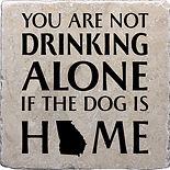 Drinking alone dog georgia coaster.jpg